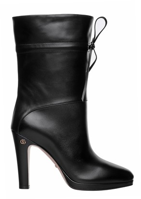 Gucci Woman Ankle Boot With Double G