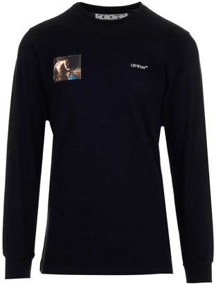Off-White Caravaggio Angel Long-Sleeve T-Shirt
