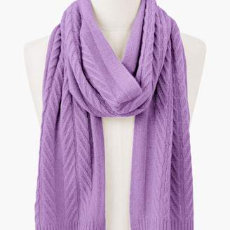 Talbots Cashmere Cable Scarf