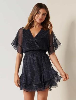 Ever New Sophie Petite Plisse Mini Dress