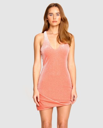 Alice McCall Women's Pink Mini Dresses - Midnight Magic Mini Dress - Size 8 at The Iconic