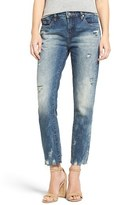Blank NYC Women's Blanknyc Distressed Crop Jeans