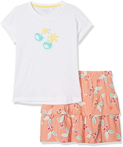 Name It Girl's Nkfvegas Capsl Set K Clothing Set,(Manufacturer Size: -128)