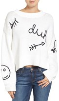 Wildfox Couture Women's Duh Crewneck Sweater