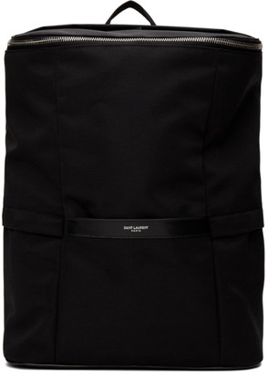 Saint Laurent Black Sid Backpack