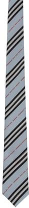Burberry Blue Manston Tie