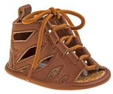 Laura Ashley Lace-Up Gladiator Sandal in Brown