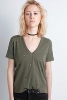 Zadig & Voltaire Wassa Holes T-Shirt