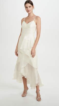 Marchesa High Low Tea Length Gown