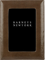 Barneys New York Snakeskin Studio Frame