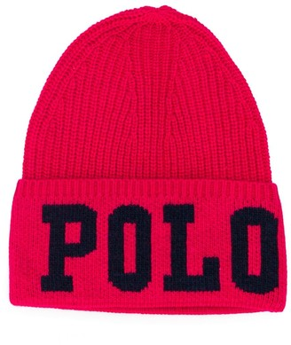 Ralph Lauren Kids Signature Polo Beanie