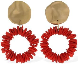 COMPLETEDWORKS Assembly Ceramic Multi Hoop Earrings