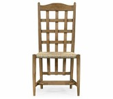 Solid Wood Slat Back Side Chair in Walnut Jonathan Charles Fine Furniture