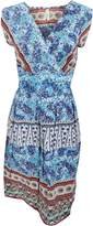 Universal Textiles Womens/Ladies Paisley Pattern Sleeveless Crossover Summer Dress