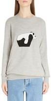 Loewe Women's Panda Wool Sweater