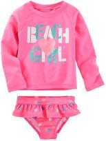 Osh Kosh OshKosh Beach Girl Rashguard Set