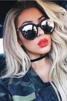 Quay X Chrisspy Jetlag Sunglasses in Black/Rose