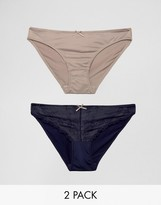Marie Meili Miu 2 Pack Briefs