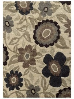 StyleHaven Cecilia Overscale Floral Shag Area Rug
