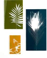 Umbra Wall Art, Set of 3 Glass Garden Panels