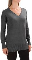 Lilla P V-Neck Tunic Sweater (For Women)