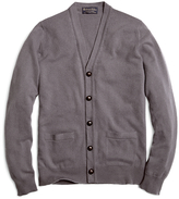 Brooks Brothers Cashmere Button-Front Cardigan