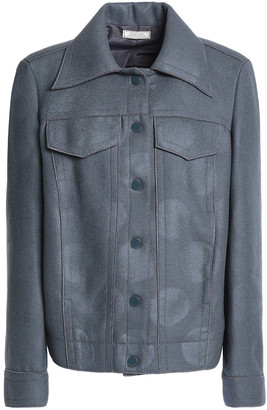 Nina Ricci Coated Wool-blend Jacket