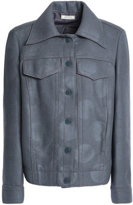 Nina Ricci Coated Wool-blend Jacket