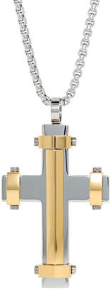 Silver Cross FINE JEWELRY Mens Sterling Pendant Necklace