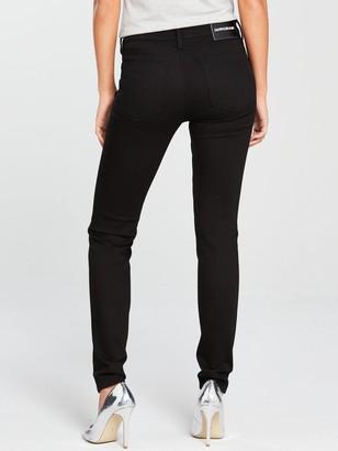 Calvin Klein Jeans CKJ 010 Mid Rise Skinny Jean - Eternal Black