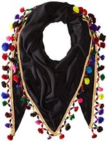 Betsey Johnson Women's Spring Fling Triangle Scarf