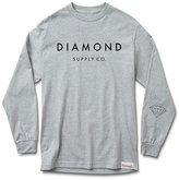 Diamond Supply Co. Men's Stone Cut LS T Shirt XL