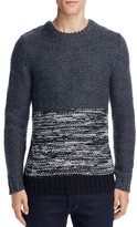 NATIVE YOUTH Polar Knit Color Block Sweater