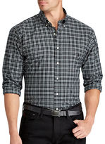 Polo Ralph Lauren Big and Tall Classic-Fit Plaid Cotton Shirt