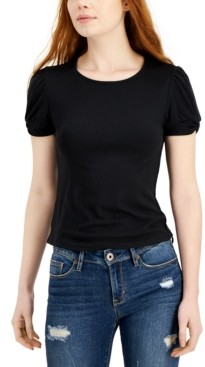 Derek Heart Juniors' Tab-Cuff Top