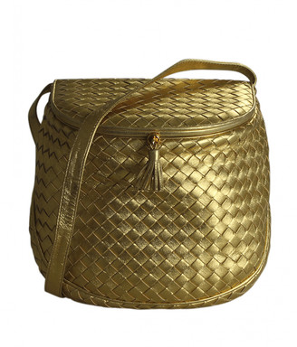 Bottega Veneta Gold Leather Handbags