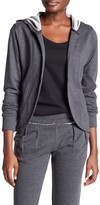 Central Park West French Terry Cardigan Hoodie
