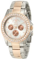 Ecko Unlimited Rhino by Women's E8M062MV Stone On Metal Multifunction Watch