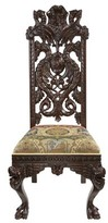 Toscano Knottingley Manor Upholstered Dining Chair Design