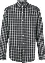 Hardy Amies Madras checked cotton shirt