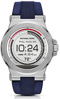 Michael Kors Access Dylan Silicone-Strap Smart Watch