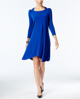 Alfani Cutout Handkerchief-Hem Dress, Only at Macy's
