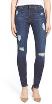 7 For All Mankind The Skinny Mid Rise Skinny Jean