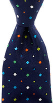 Roundtree & Yorke Rainbow Neat Traditional Silk Tie