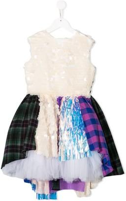 Natasha Zinko Kids layered hem dress
