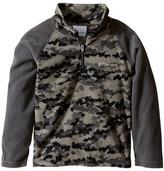 Columbia Kids - Glacial II Print 1/2 Zip Boy's Sweatshirt
