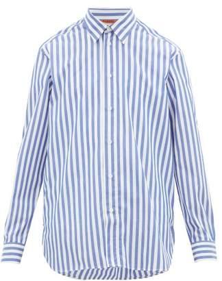 Barena Venezia - Sirone Striped Cotton-poplin Shirt - Mens - Blue White