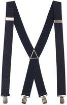 Topman Navy Stripe Braces