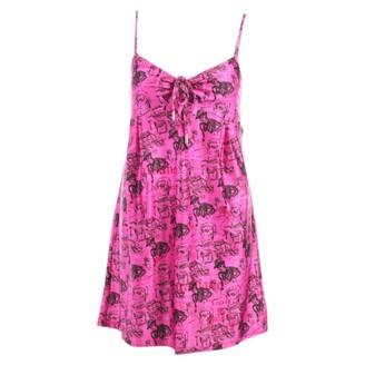 John Galliano Pink Dress for Women