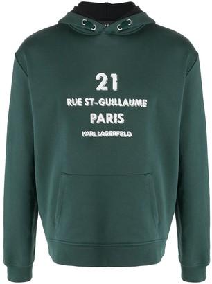 Karl Lagerfeld Paris Rue St-Guillaume hoodie